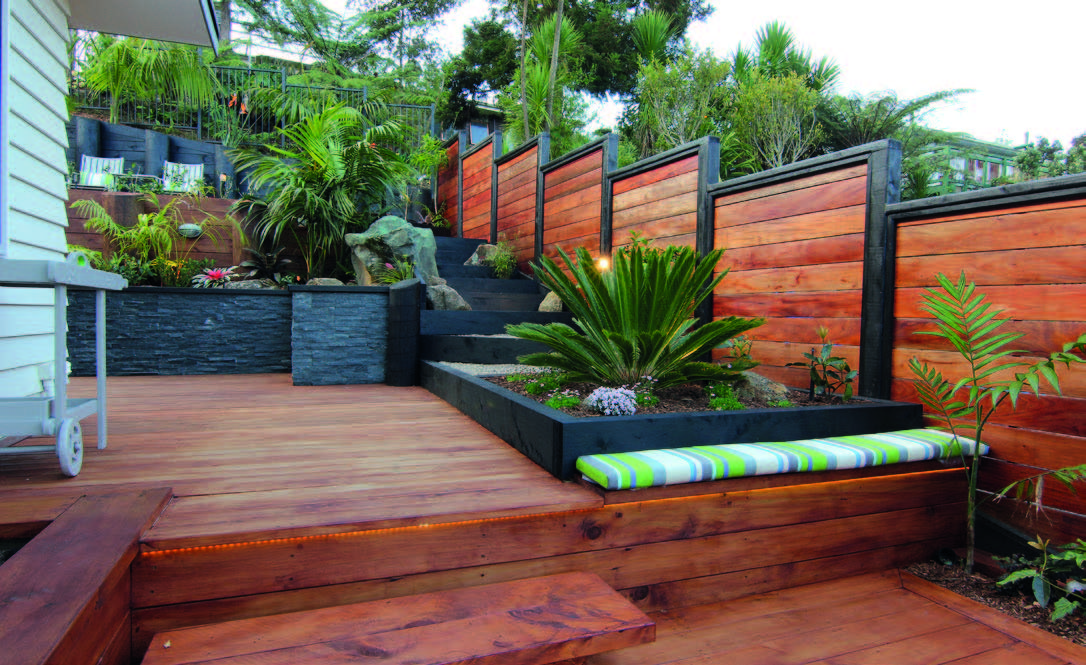 Suppliers building guide house design and building for Small garden designs nz